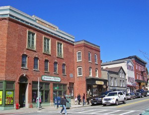 Main St.; Village of Warwick, NY - The Business District