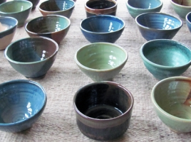 At its most basic level, the aim of the Empty Bowls Project is to help feed hungry people one bowl at a time.