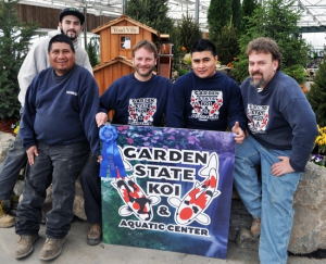Garden state koi wins first place people s choice award at for Garden state koi