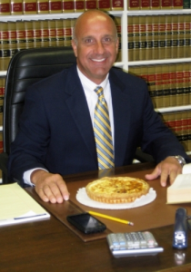 Warwick attorney Bob Krahulik is among the people participating in the new marketing campaign for Jean-Claudeís Artisan Bakery that seeks to answer the question: Do real men eat quiche?