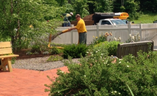 Wright Brothers Landscaping donates garden maintenance to Winslow