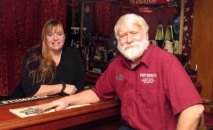 Peggy and John Christison, owners of the Sleepy Valley Inn.