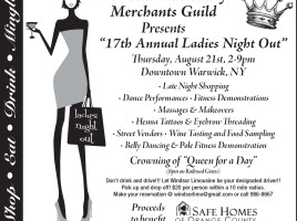 Ladies Night Out 2014 ad