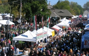 Perhaps it was the picture perfect weather or the increasing notoriety but by all accounts the 30,000 estimate for the annual celebration of Applefest on Sunday, Oct. 5, needs to be revised upwards.