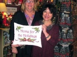 Home for the Holidays co-Chairs Debbie Iurato (left) and Mary Beth Schlichting.
