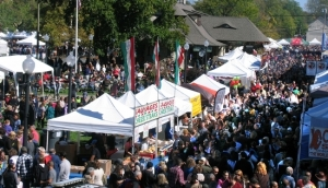 The record crowds at Applefest 2014 also raised a record amount of money for its two co-sponsors