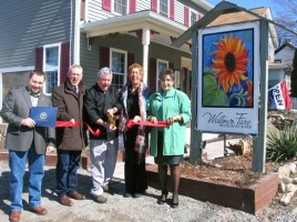 """On March 19, Orange County Legislator Paul Ruszkiewicz and members of the Warwick Valley Chamber of Commerce Board of Directors joined co-owners Stephen and Kristina Ernst for the opening of Westtown Fare Restaurant, 795 Route 284, Westtown, in the heart of Hudson Valley's Black Dirt Region. Ruszkiewicz also presented the owners with a """"Distinguished Service Award"""" from Orange County."""