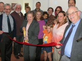 On Tuesday, April 7, Mayor Michael Newhard and members of the Warwick Valley Chamber of Commerce joined Attorney Deborah Young along with some of her clients and friends to celebrate the grand opening of her new office with a ribbon-cutting ceremony.