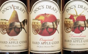 The Warwick Valley Winery has recently begun distributing its award-winning Doc's Draft Hard Ciders to the U.K. and Norway.
