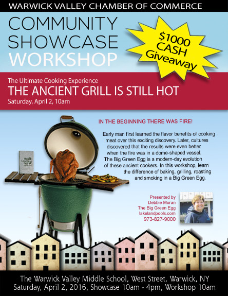 Big Green Egg Community Showcase Workshop 2016