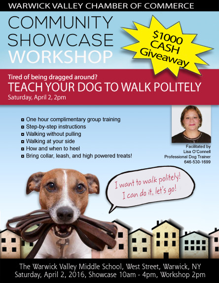 Dog Training Community Showcase Workshop 2016