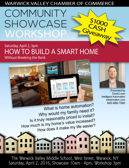 Home Automation Community Showcase Workshop 2016