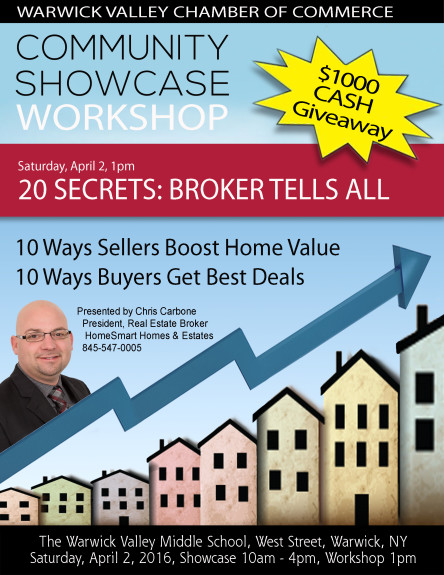 Home Selling Workshop Community Showcase 2016