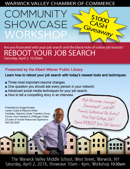 Job Search Workshop Community Showcase 2016