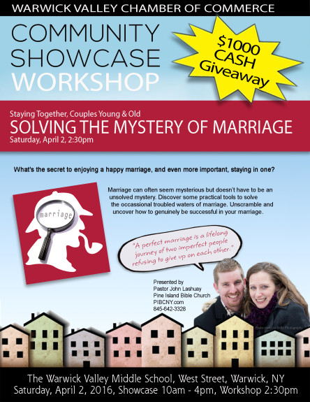 Marriage Workshop Community Showcase 2016