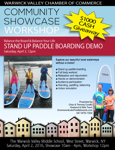 Paddle Boarding Community Showcase Workshop 2016