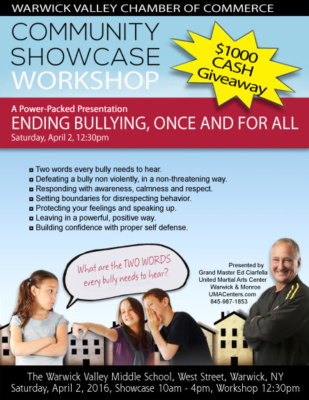 UMAC Bully Community Showcase Workshop 2016