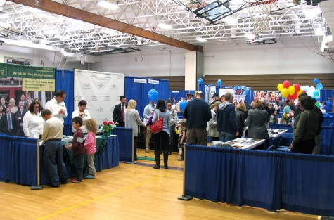 Photos by Roger Gavan Eighty businesses and organizations and over 700 visitors participated in Community Showcase, formerly known as EXPO and now in its ninth year. The recent Warwick Valley Chamber of Commerce business showcase was held at the Middle School on Saturday, April 2.