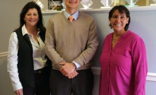 Pictured from left to right are: Nancy Sardo, Geoff Green and Denise Schmidt.
