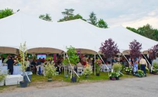 Photo by Tori Jackson The Great Lawn of Mt. Alverno Center was the site for Warwick's June Tent Party, co-sponsored by Warwick Valley Rotary and St. Anthony Community Hospital.